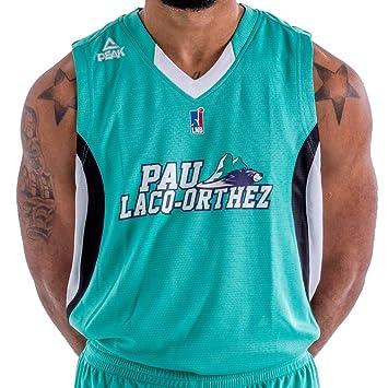 PEAK Elan Bearnais Exterior 2017 – 2018 – Camiseta de Baloncesto para Hombre, Hombre,