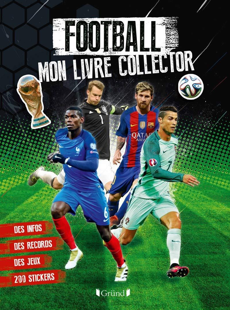 Football Mon Livre Collector 9782324019852 Amazon Com Books
