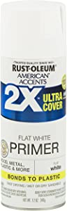 Rust-Oleum 327914 American Accents Ultra Cover 2X Primer, Each, White
