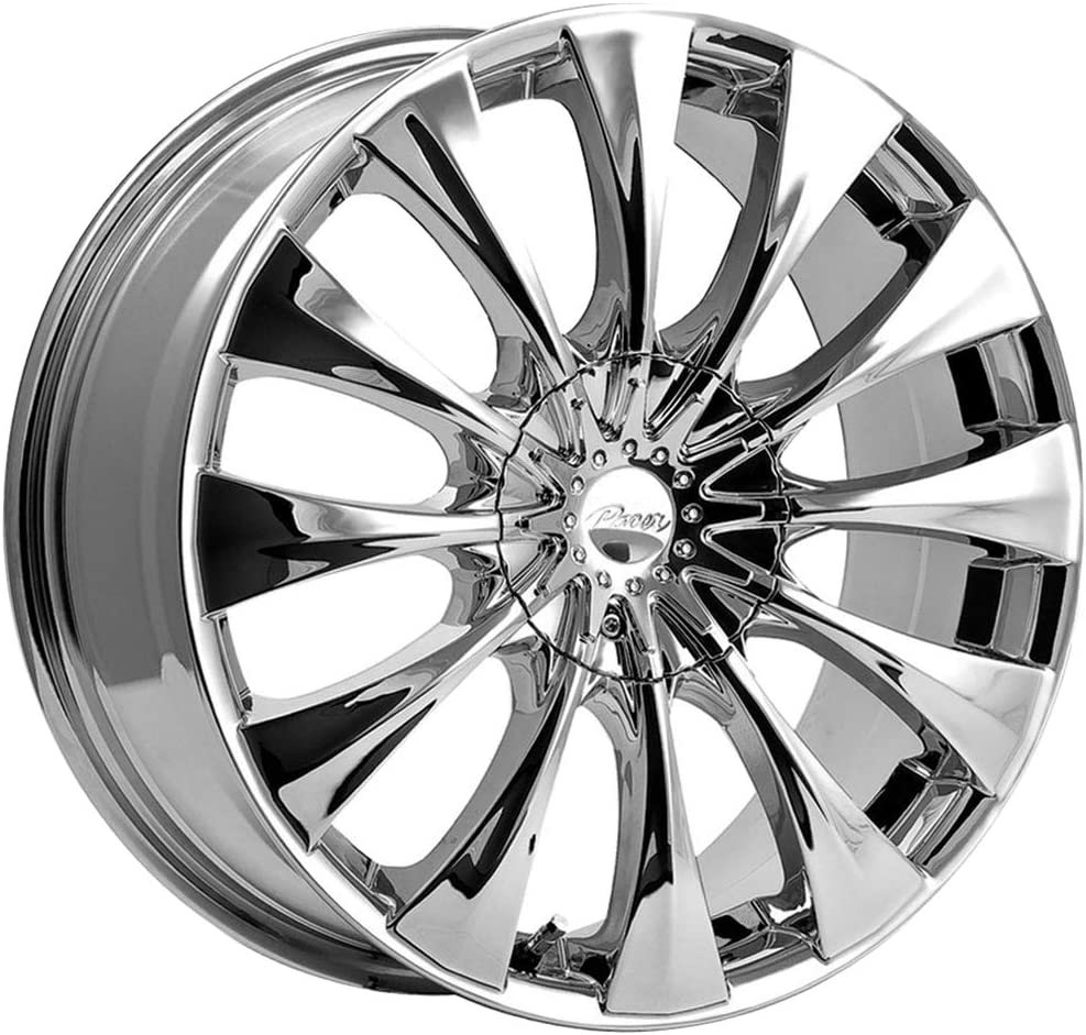 "Pacer 776C SILHOUETTE Wheel with Chrome Finish (20x8.5""/5x4.50"", +40mm Offset)"
