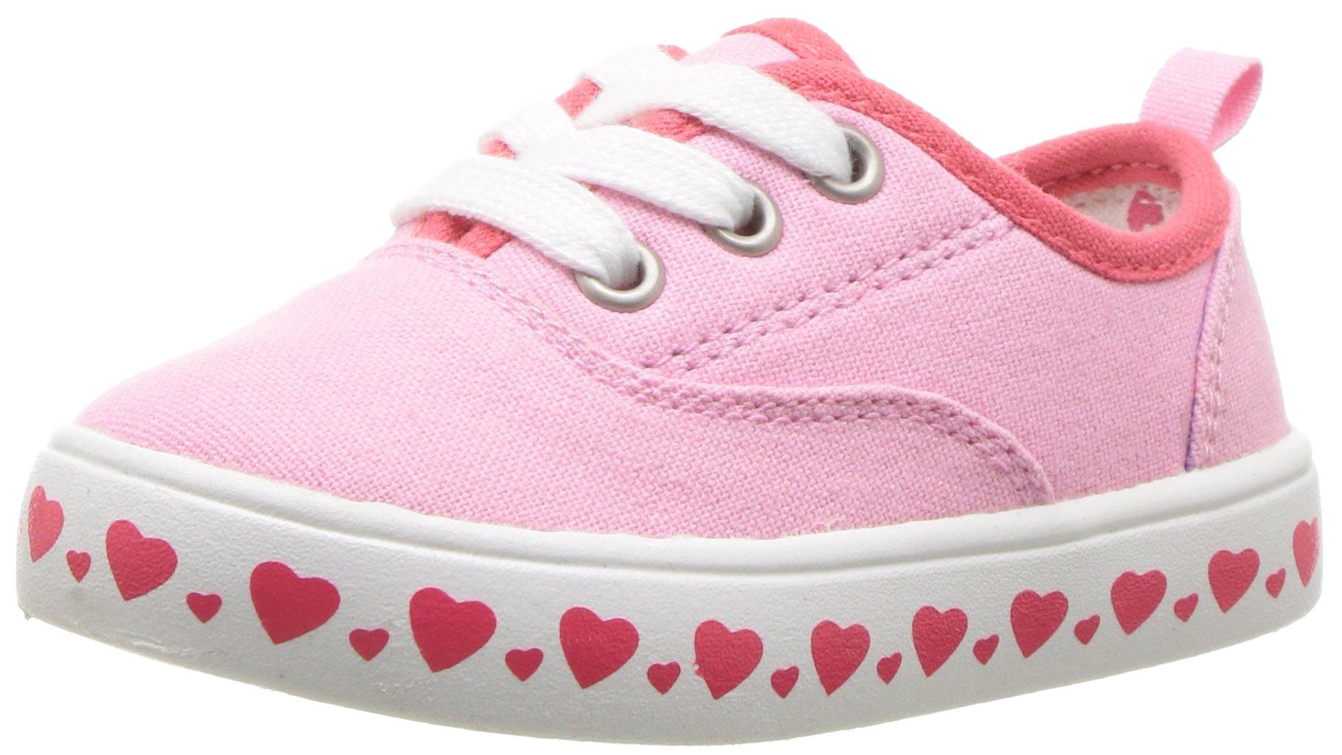 Carter's Austina Girl's Casual Sneaker, Pink, 7 M