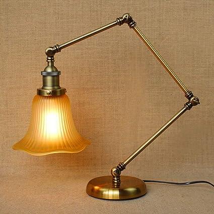 HAIZHEN American Country rústico Lámparas de estilo vintage ...
