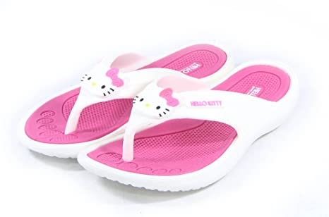 f8ffd7f64 Image Unavailable. Image not available for. Colour: Hello Kitty Lovely  Women Flip Flops Summer Slippers ...