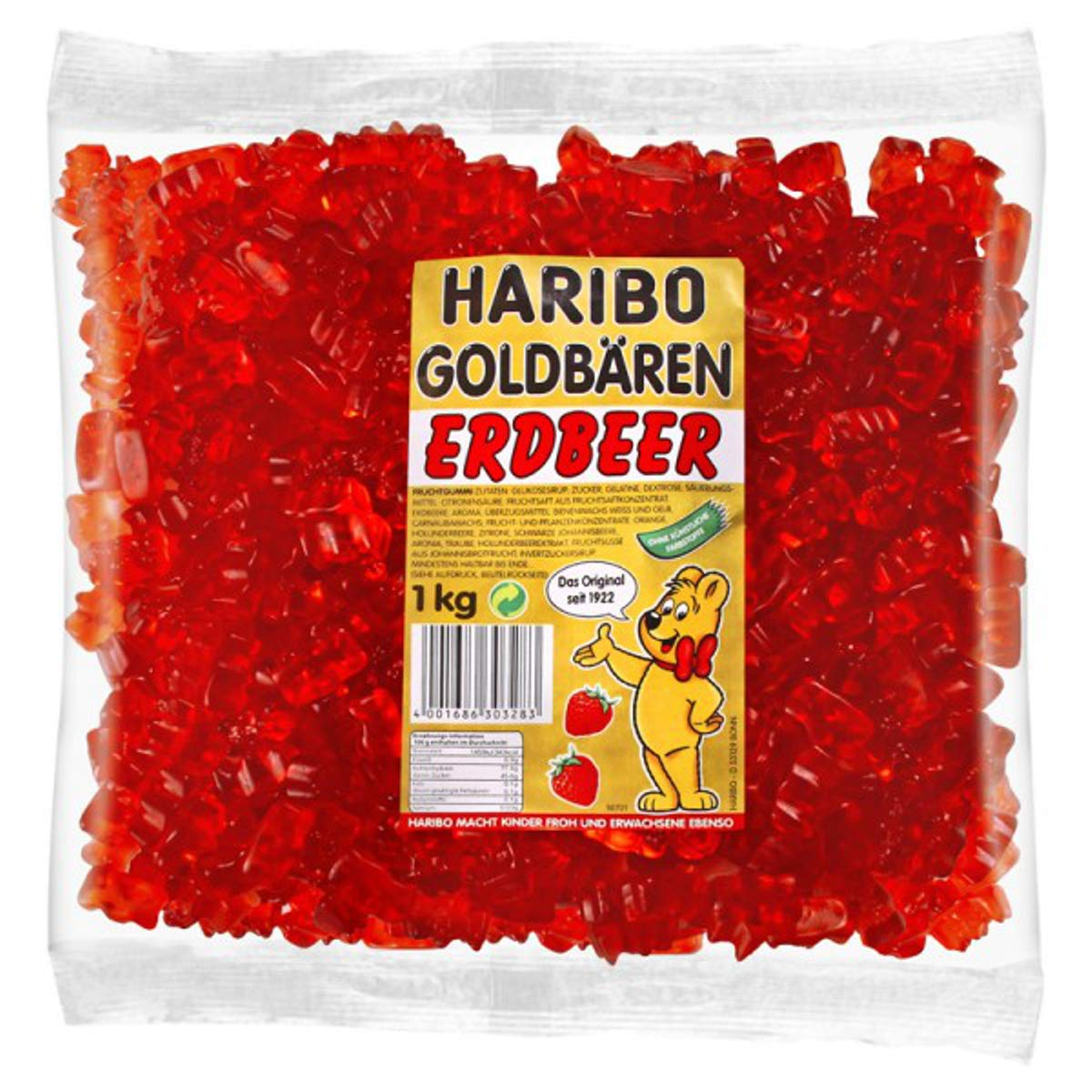 haribo rote gummibärchen