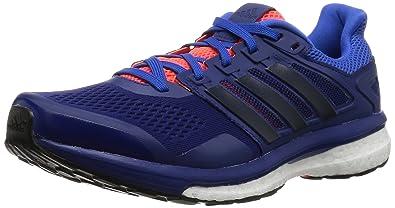 timeless design 00f2a b63e9 adidas Men s Supernova Glide 8 Training, Blue - Blau (Blau Schwarz Blau