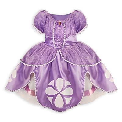 Disney Store Sofia the First Costume Dress Size M Medium 7 - 8: Clothing