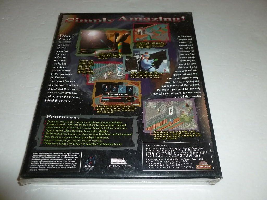 Amazon com: Relentless Twinsen's Adventure: Video Games