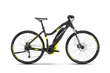Haibike Sduro Cross 4.0 Mujer Negro/lime Mate 2017 S de Cross Bike, schwarz