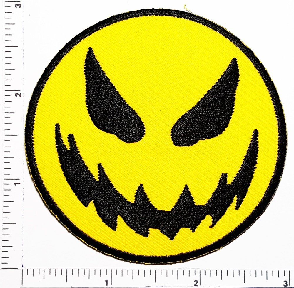 Amazon.com: Devil Emoji Emoji Cara Sonriente y parche ...