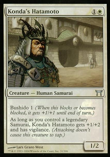 Amazon.com: Magic: The Gathering – konda hatamoto ...