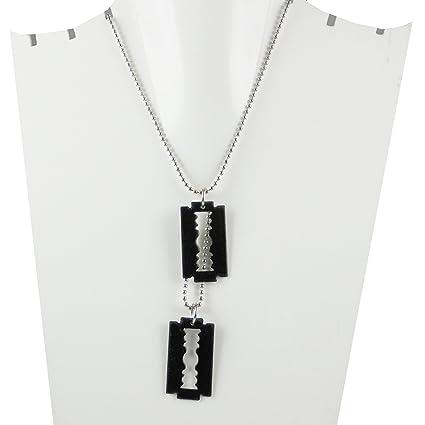 Buy eshoppee designer blade pendant locket chain necklace for man eshoppee designer blade pendant locket chain necklace for man and women altavistaventures Image collections