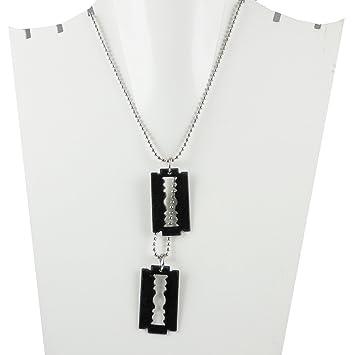 Buy eshoppee designer blade pendant locket chain necklace for man eshoppee designer blade pendant locket chain necklace for man and women thecheapjerseys Choice Image