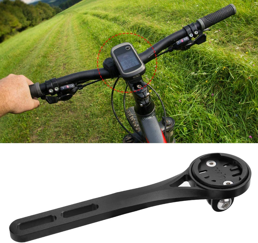 Metal Bicycle Riding Code Table GPS Seat Extension Mount Bracket Compatible with Bryton//Garmin//Wahoo Gojiny Bike Computer Mount Holder