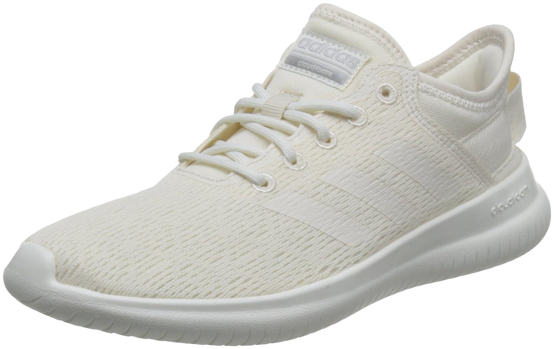 adidas Damen Cloudfoam QT Flex Gymnastikschuhe  39 1/3 EU|Elfenbein (Chalk Wht/Chalk Wht/Matte Silver)