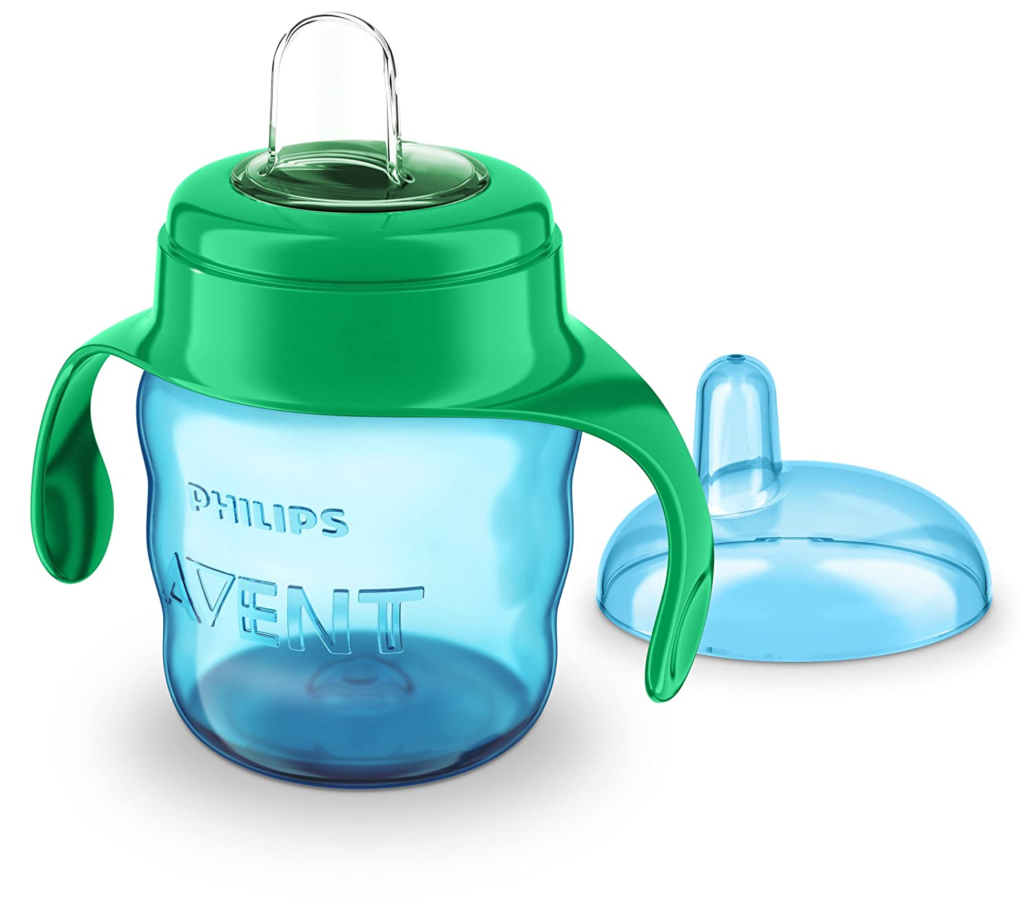 Boy Philips AVENT Spout Cup Easy Sip Cup Sippy Cup for Boys and Girls 7oz//200ml 6 months+