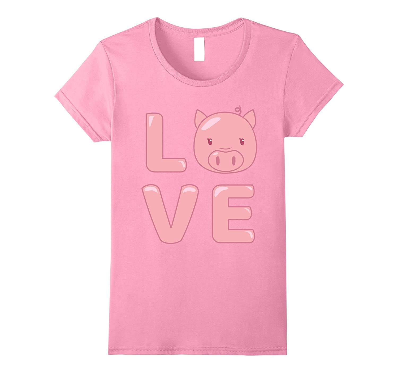 Love T Shirt Animal Shirt Heather-Tovacu