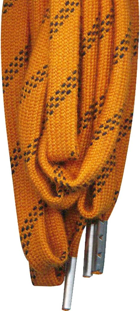 JOB SITE Safety Lace Orange Black 5 32 in 4 Mm X 60 in 152 cm