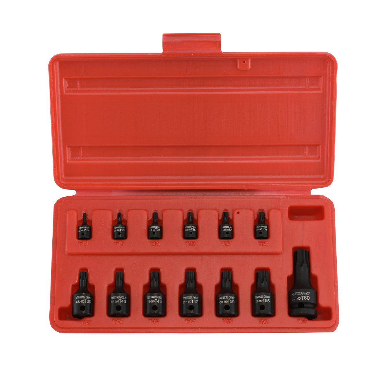 Neiko 10281B Impact Torx Socket Set (13 Piece) Ridgerock Tools Inc.