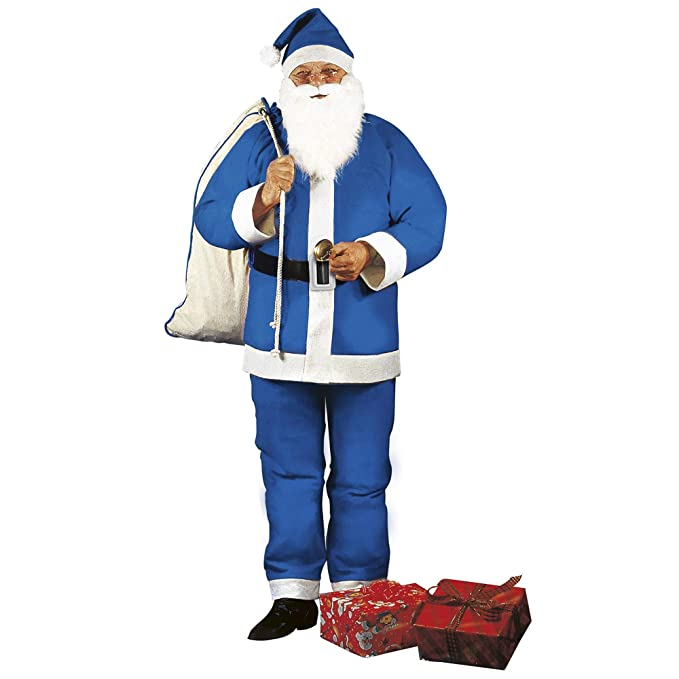 WIDMANN wid1536e ? Disfraz para adulto Navidad Papá Noel ...