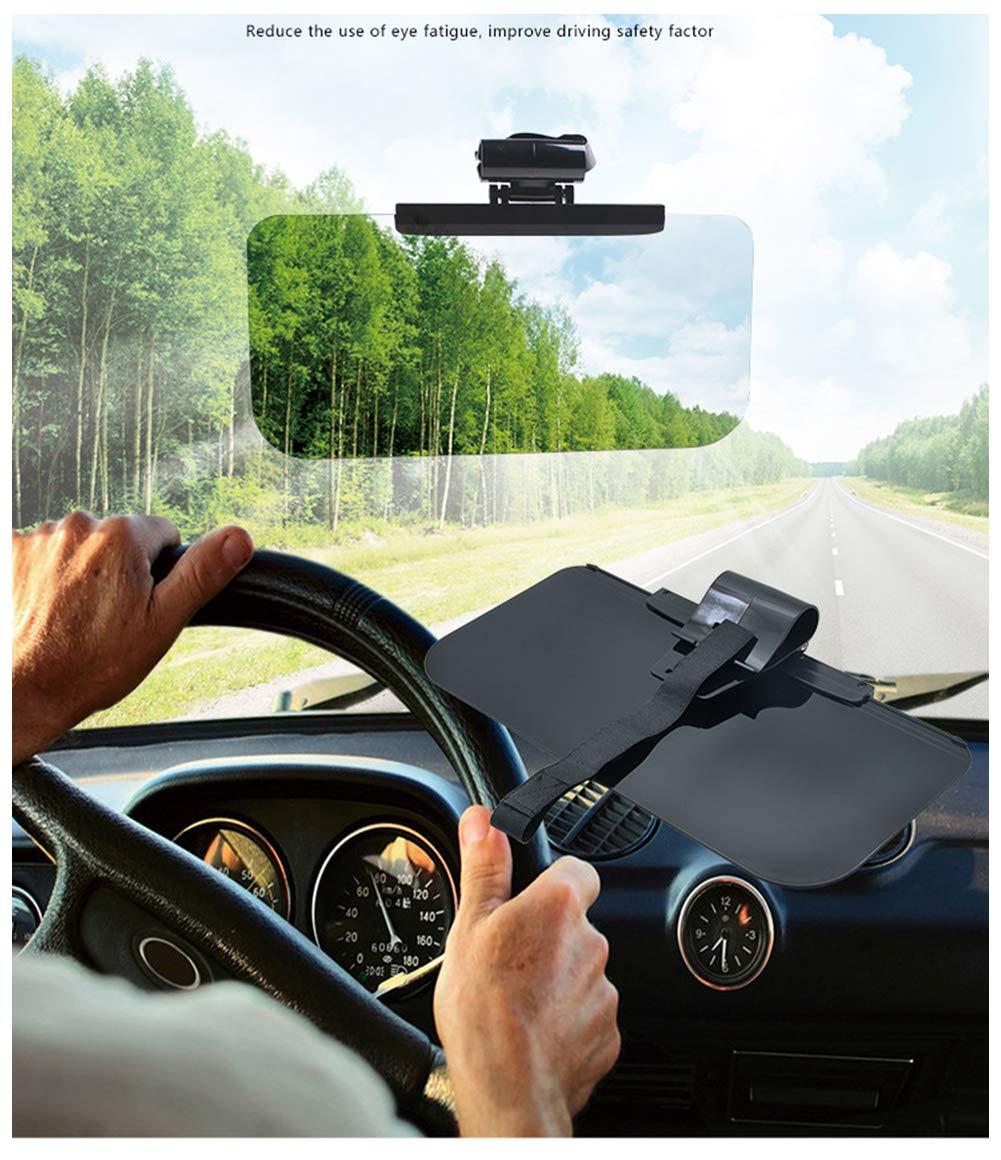 Blendschutz Auto Sonnenblende Verl/ängerung Tag Fahren Sonnenblende Fahren Hd Visier Goggles Amorar Auto Sonnenschutz