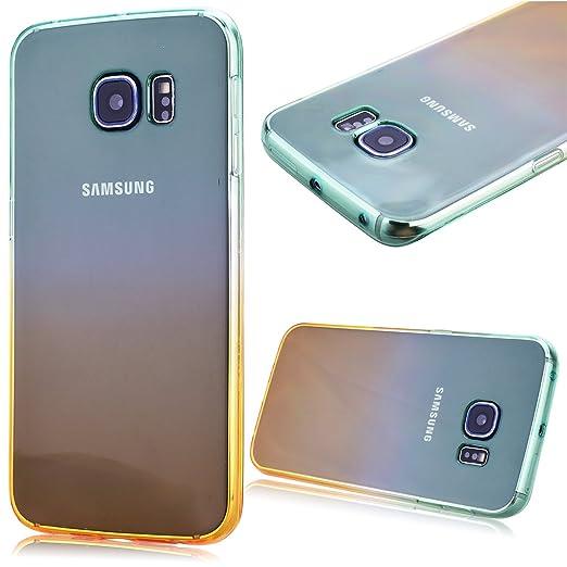 6 opinioni per GrandEver Custodia TPU Gel Silicone per Samsung Galaxy S6 Edge Cover Morbida Fit