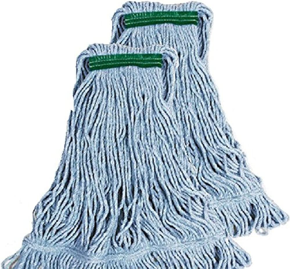 Rubbermaid Commercial Super Stitch Blend Large Mop Heads Two 2 Pack Home Kitchen