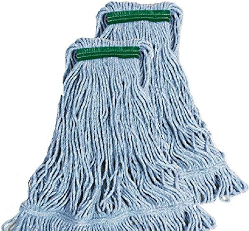 Rubbermaid Commercial Super Stitch Blend Large Mop Heads - Two (2) Pack by Rubbermaid FGD21371BL91