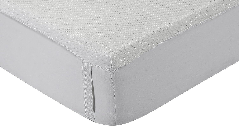 Classic Blanc - Topper Viskoelastische Matratzenauflage Komfort Plus, mittlere Festigkeit, 150 x 190 cm, Höhe 5 cm, Bett 150