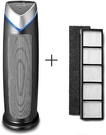 Purificador de aire con ionizador Clean Air Optima CA-506 + set de ...