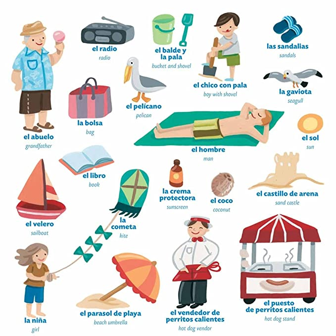 Amazon.com: Peaceable Kingdom My Family! ~ Mi Familia! Spanish and English Reusable Sticker Tote: Toys & Games