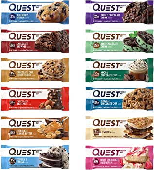 Quest Nutrition 12 Count High Protein Gluten Free Ultimate Variety Pack