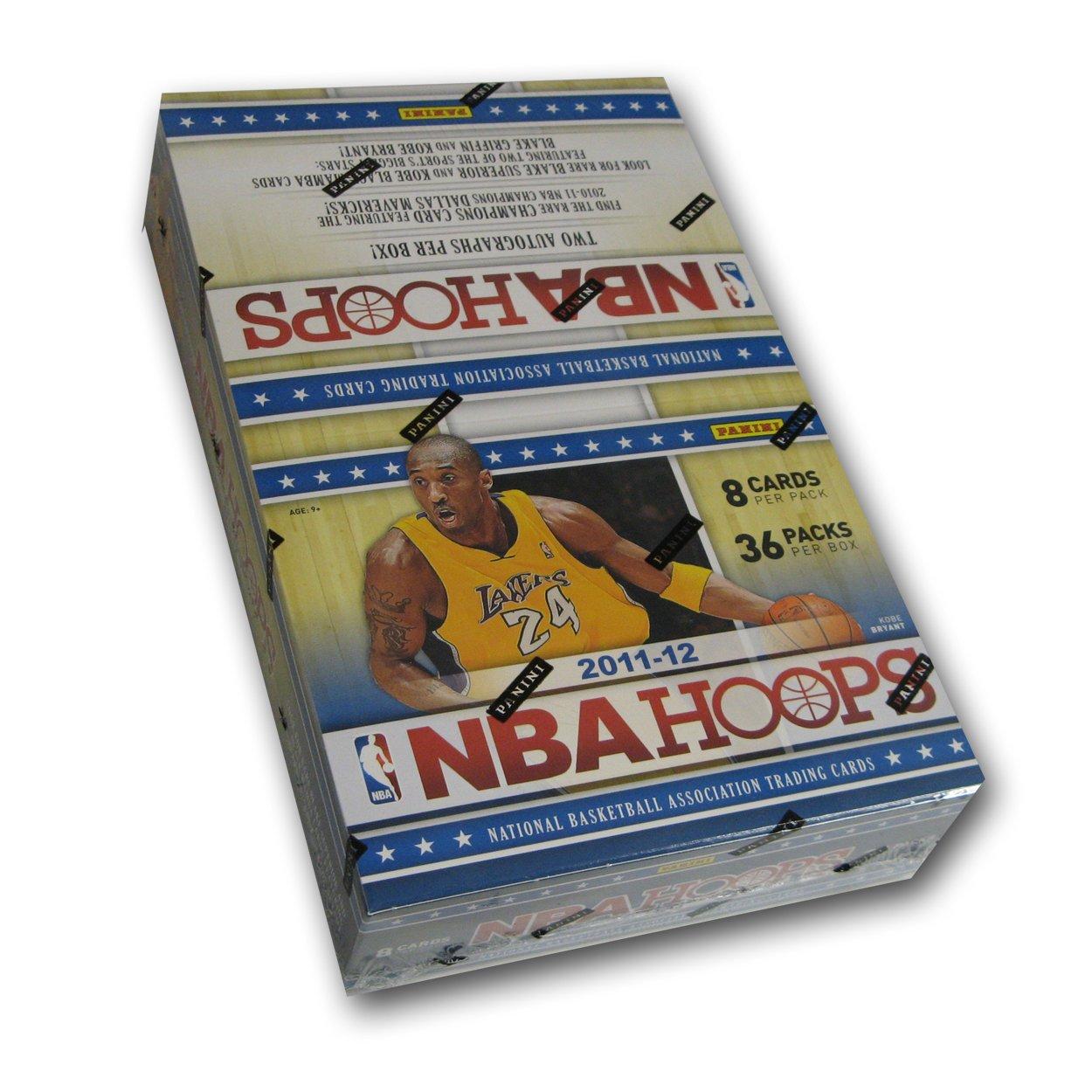 2011/12 Panini NBA Hoops Basketball Hobby Box PAN112BKTHH