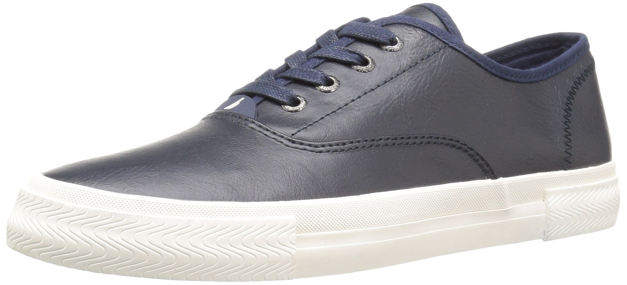 Nautica Men's Deckloom Sneaker, Peacoat Smooth, 10 Medium US