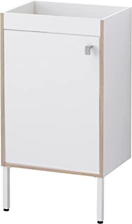 Zigzag Trading Ltd IKEA TYNGEN – Mueble Lavabo (1 Puerta Blanco/Efecto de Cenizas: Amazon.es: Hogar