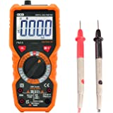 Dr.meter Digital Multimeter Trms 6000 Counts Tester Non-Contact Voltage Detection Multi Meter, PM18