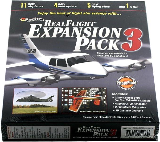 Great Planes A-GPMZ4113 - Pack de expansión para Aviones (3 G3.5): Amazon.es: Juguetes y juegos