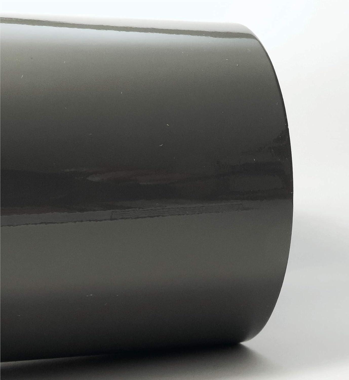 Siviwonder Zierstreifen Komatsu Grau Glanz In 5 Mm Breite Und 10 M Länge Folie Aufkleber Für Auto Boot Jetski Modellbau Klebeband Dekorstreifen Grau Dunkel Dunkelgrau 0 5cm Auto