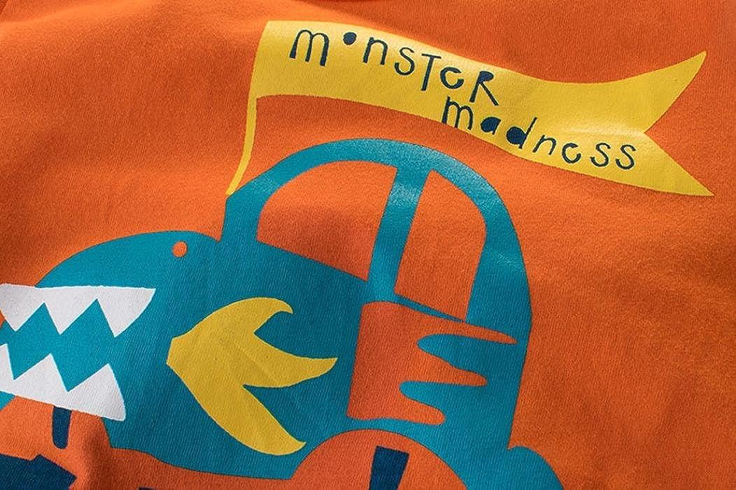 Logobeing Ropa Bebe Verano 2-7 A/ños Ni/ño Camiseta de Dibujos Animados Impresi/ón Camisetas de Manga Corta para Beb/és