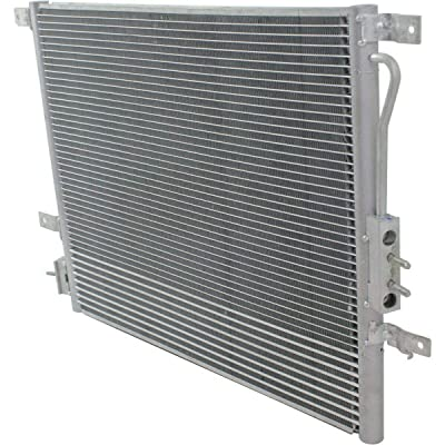 New AC Condenser For 2004-2004 Jeep Grand Cherokee With Trans Cooler CH3030207: Automotive