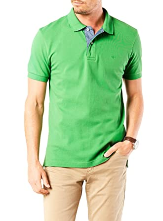 Polo Dockers Fitted Verde XXL Verde: Amazon.es: Ropa y accesorios