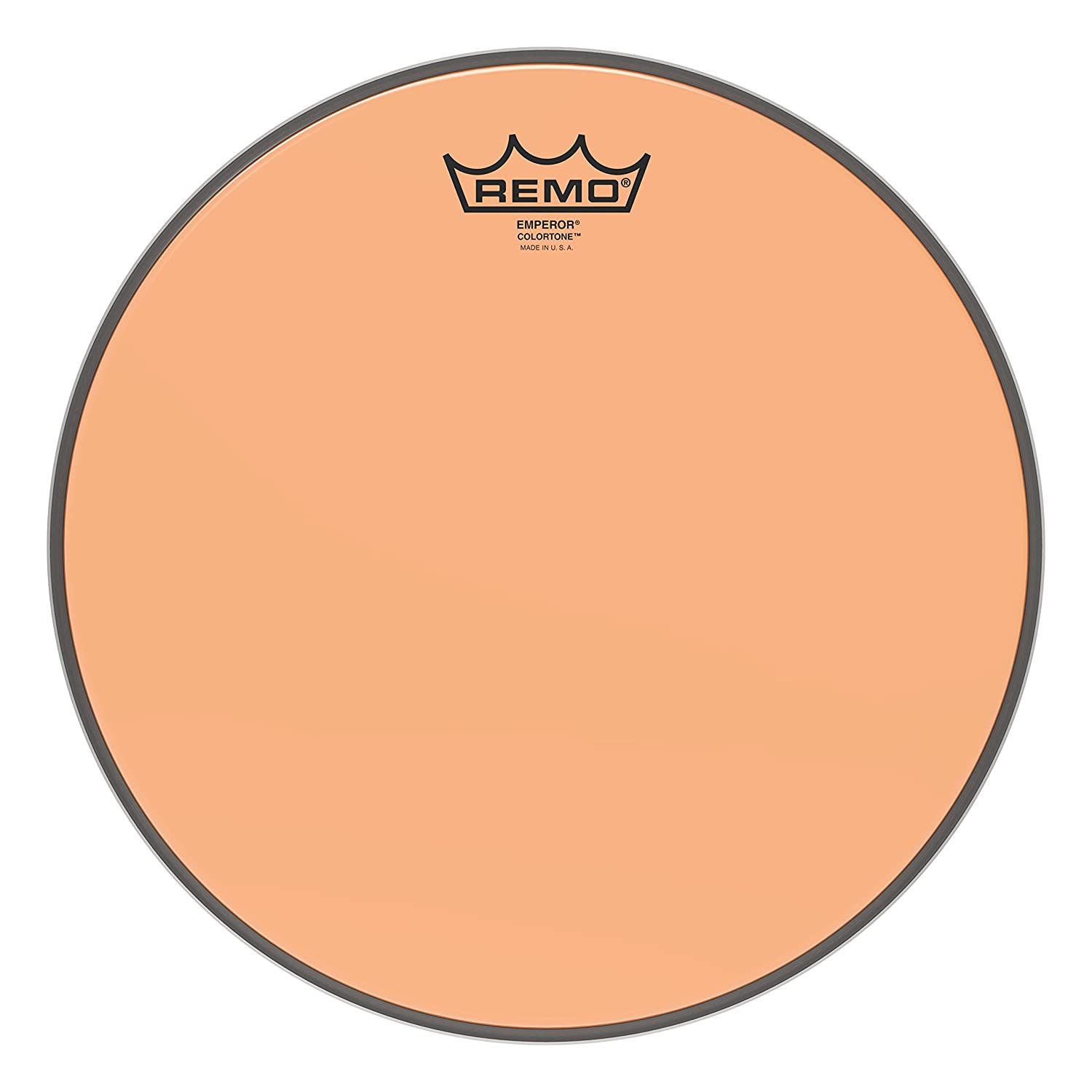 Remo Emperor Colortone Orange Drumhead, 12