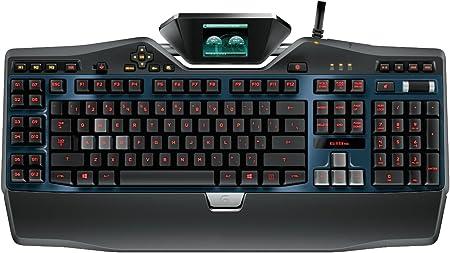 Logitech G19s Teclado para juegos con pantalla de panel de juego de color 920-004985 (reacondicionado certificado)