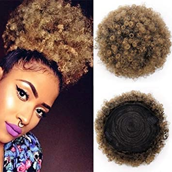 Aisi Queens Synthetic Afro Puff Curly Hair Ponytail Hairpieces For Updos African American