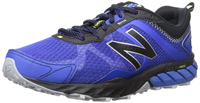 New Balance Men's MT610V5 Trail Shoe, Pacific/Black, 10.5 D US
