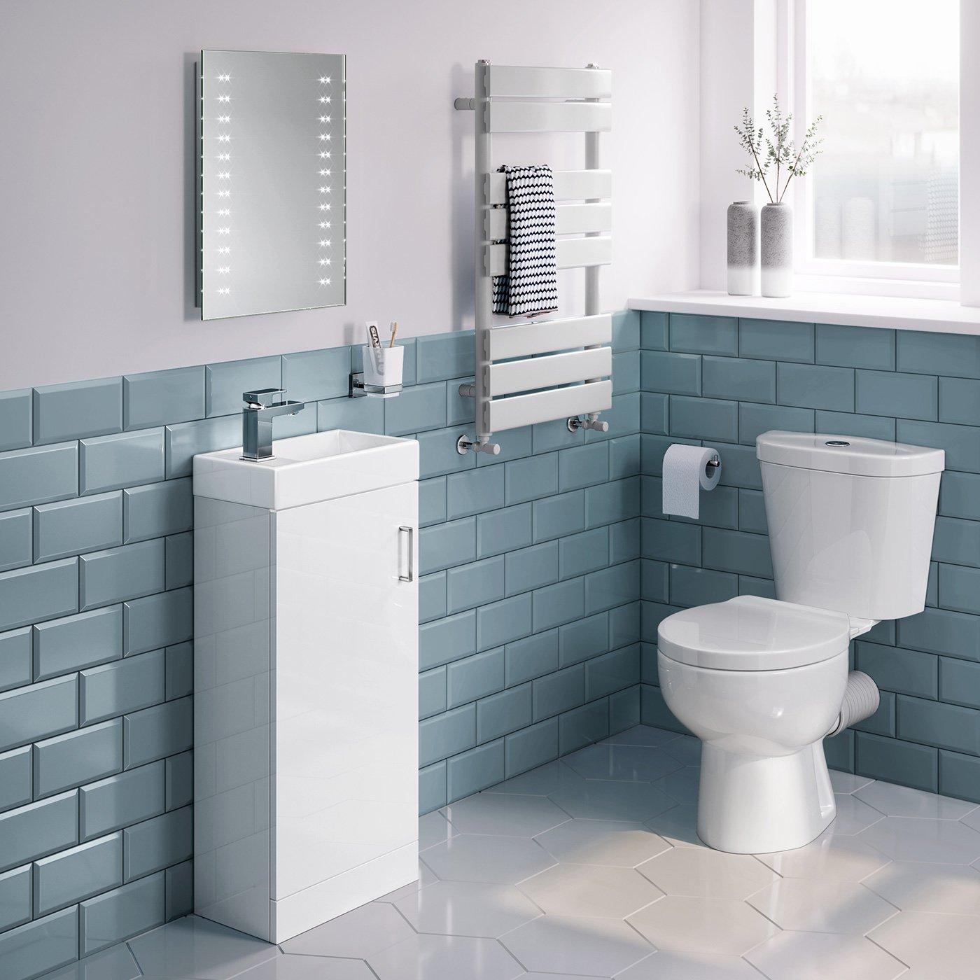 Soak Flacher Led-badspiegel 39... Eleganter Lichtspiegel Für Das Badezimmer
