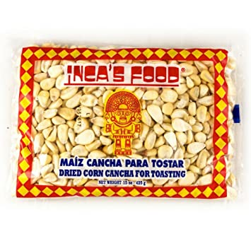 Incas Food Maiz Cancha para Tostar - Corn seco peruano para ...