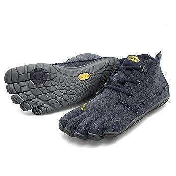 Vibram FiveFingers CVT de lana para Hombre - hombre zapatillas con dedos de lana azul/gris Talla:45: Amazon.es: Deportes y aire libre