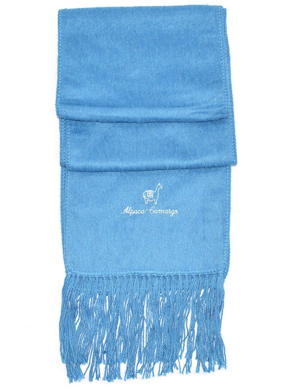 Baby Alpaca Scarf (Light Blue)