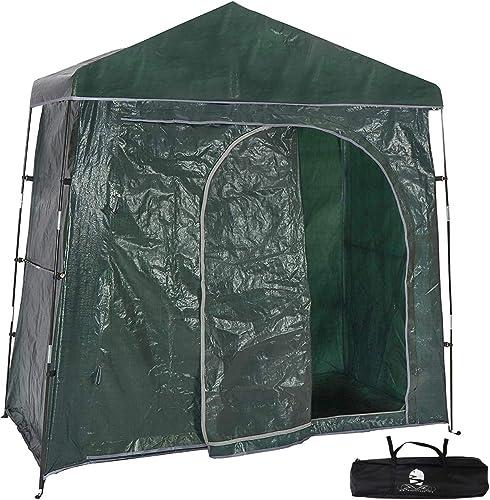 Bravindew Outdoor Bike Storage Shed Tent Heavy Duty Space Saving Bike Shed