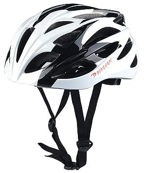Yiyuan Casco de Ciclo Casco de Ciclo Ligero para Seguridad de Montar ...